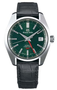 GRAND SEIKO HERITAGE COLLECTION WAKO EXCLUSIVE LIMITED EDITION SBGJ247 grey leather strap www.watchoutz.com