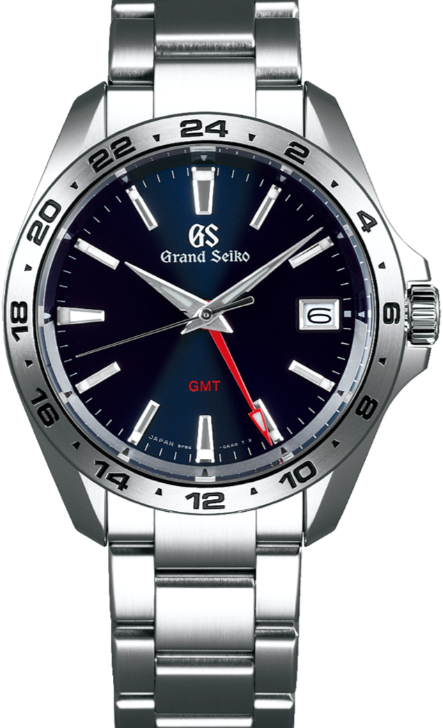 Grand Seiko Sport Collection GMT Quartz Date Display SBGN005 www.watchoutz.com