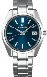 Grand Seiko Heritage Collection 44GS Quartz Date Display Blue Dial SBGV239 www.watchoutz.com