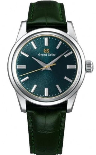 Grand Seiko TS Exclusive SBGW255G Thong Sia Green Dial www.watchoutz.com