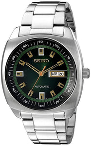 SEIKO RECRAFT AUTOMATIC GREEN DIAL SNKM97 watchoutz.com