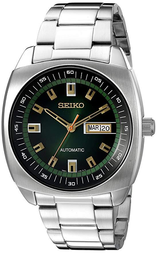 SEIKO RECRAFT AUTOMATIC GREEN DIAL SNKM97