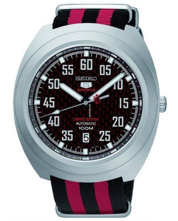 SEIKO 5 SPORTS NATO LIMITED SRPA87J1 www.watchoutz.com