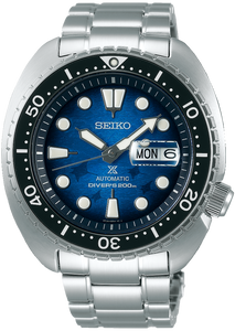 Seiko Prospex Automatic Diver King Turtle Save the Ocean Manta Ray SRPE39K1 www.watchoutz.com