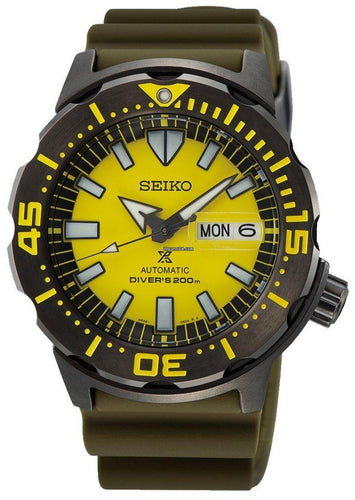Seiko Prospex Monster Asia Special Edition Automatic Diver 200M SRPF35K1 www.watchoutz.com