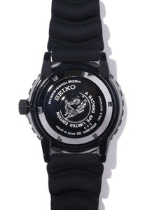 SEIKO X BAPE ABC CAMO MECHANICAL DIVERS WATCH 2020 (SZEL004) Back www.watchoutz.com