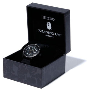 SEIKO X BAPE ABC CAMO MECHANICAL DIVERS WATCH 2020 (SZEL004) Box www.watchoutz.com