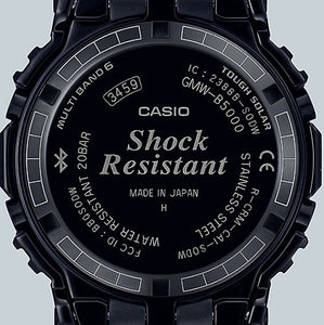 Casio G-shock GMW-B5000CS-1 Full Metal Grid Design Time Tunnel twist case back www.watchoutz.com
