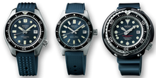SEIKO PROSPEX DIVER'S WATCH 55TH ANNIVERSARY SPECIAL COMMEMORATIVE BOX SLA037 SLA039 SLA041 www.watchoutz.com
