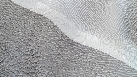 Abstract Aerial Art - Sand Dunes Patterns fine aerial art print.