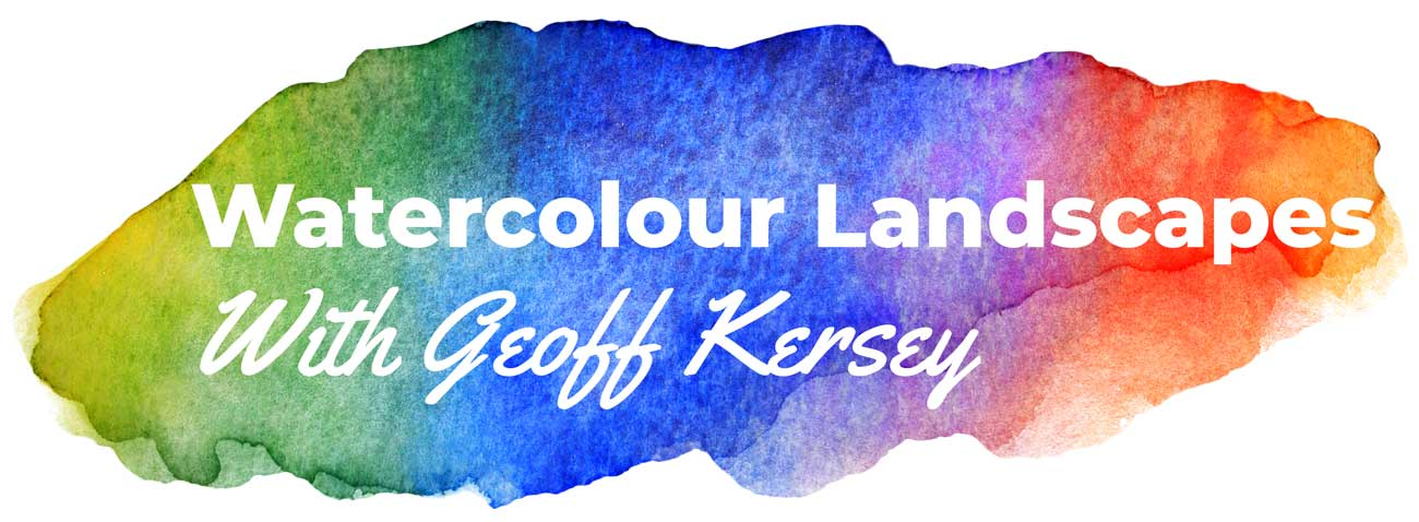 Watercolour Landscapes with Geoff Kersey
