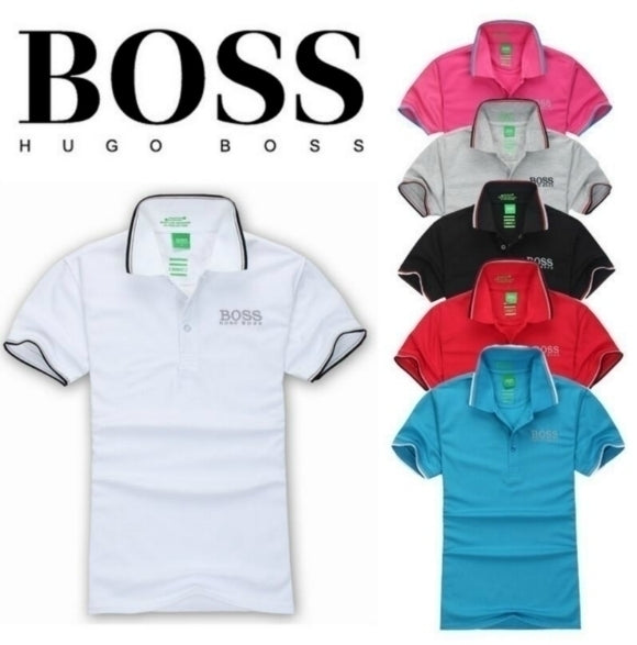 NEW MEN'S POLO SHIRT - HUGO BOSS