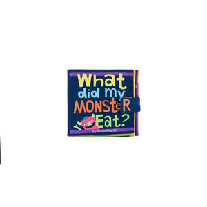 What Did My Monster Eat Activity Softbook