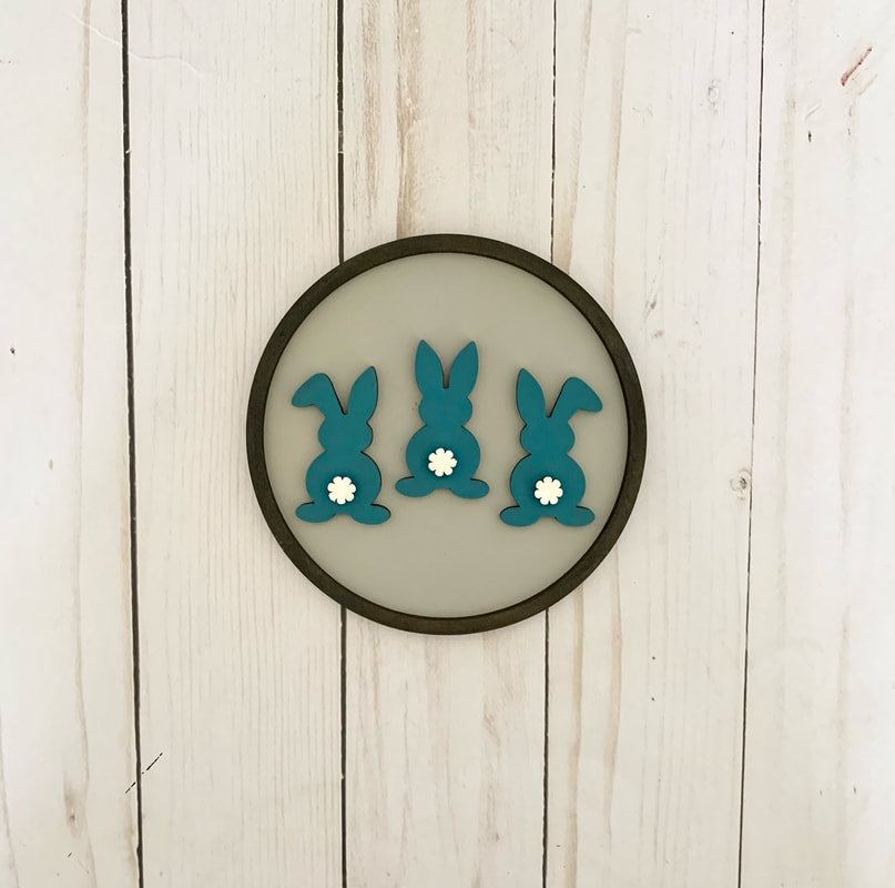 Bunny Insert for Shiplap Circle