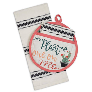 Plant One On Me Potholder Gift Set