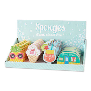 Summer Fun Sponges