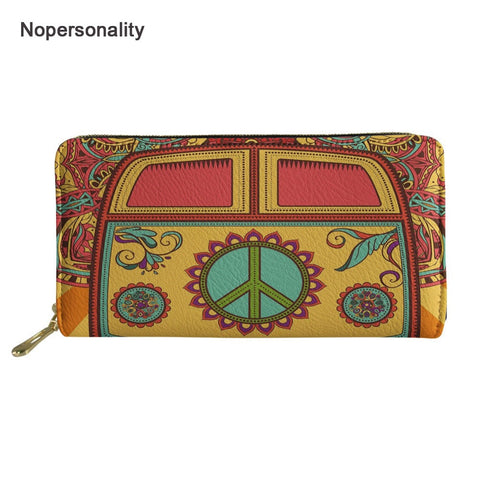 Colorful Hippie Leather Wallets