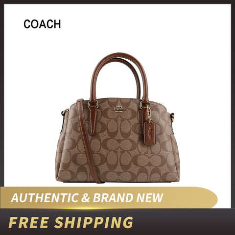 Coach Signature Mini Sage Satchel Crossbody Bag