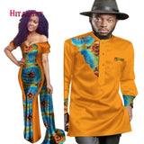 New Designs Couple for Lovers  Dress + Mens African Print