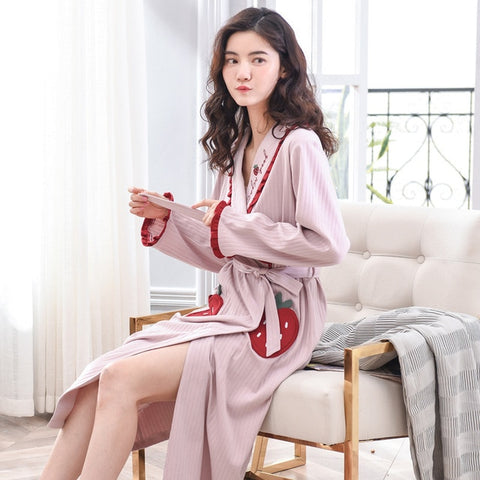 New Comfortable Terry Cotton Bathrobes