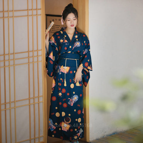 Japanese Kimono Traditional Dress