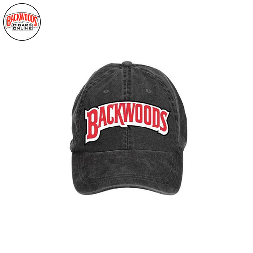 Backwoods Cigars Baseball Caps (Black) - Backwoods Cigars Online