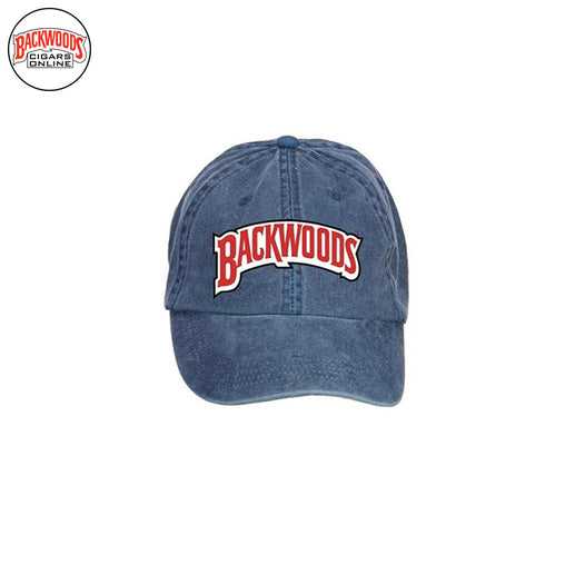 Backwoods Cigars Baseball Caps (Blue) - Backwoods Cigars Online