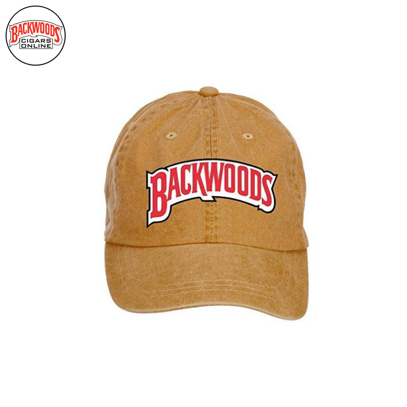 Backwoods Cigars Baseball Caps (Brown) - Backwoods Cigars Online