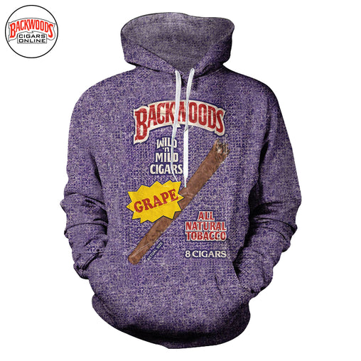 "Backwoods Grape Cigars ""SweatShirt"" - Backwoods Cigars Online"