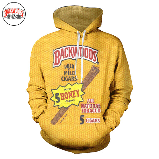 "Backwoods Honey Cigars ""SweatShirt"" - Backwoods Cigars Online"