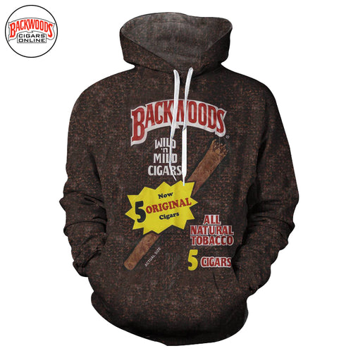 "Backwoods Original Cigars ""SweatShirt"" - Backwoods Cigars Online"