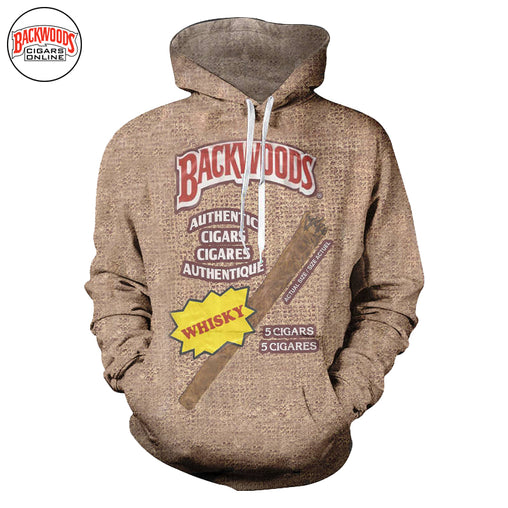 "Backwoods Whisky Cigars ""SweatShirt"" - Backwoods Cigars Online"