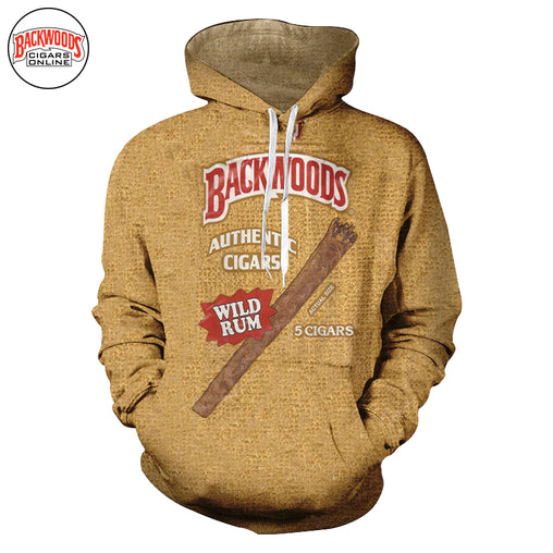"Backwoods Wild Rum Cigars ""SweatShirt"" - Backwoods Cigars Online"
