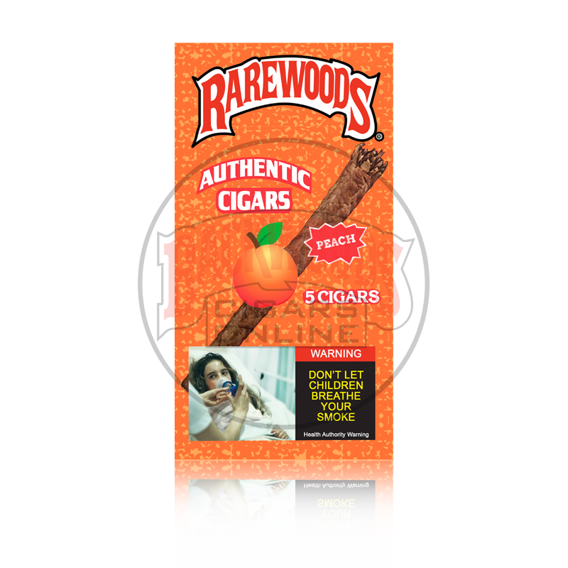 Rarewoods Backwoods Peach Cigars online for sale