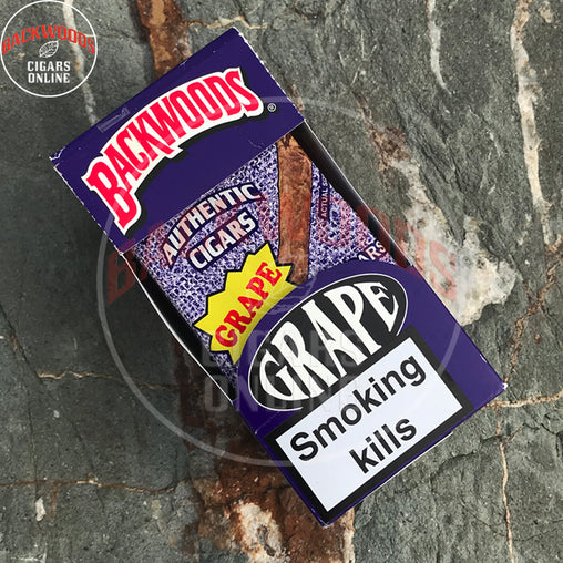 Backwoods Grape Cigars 8x5 pack online for sale usa uk canada