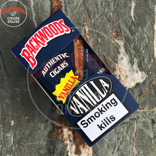 Backwoods Vanilla Cigars 8x5 packs online for sale usa uk canada