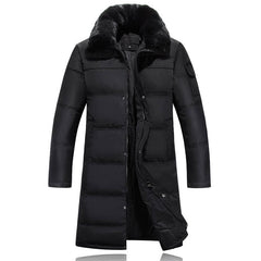 Long Down Jacket for Men - ShopTug