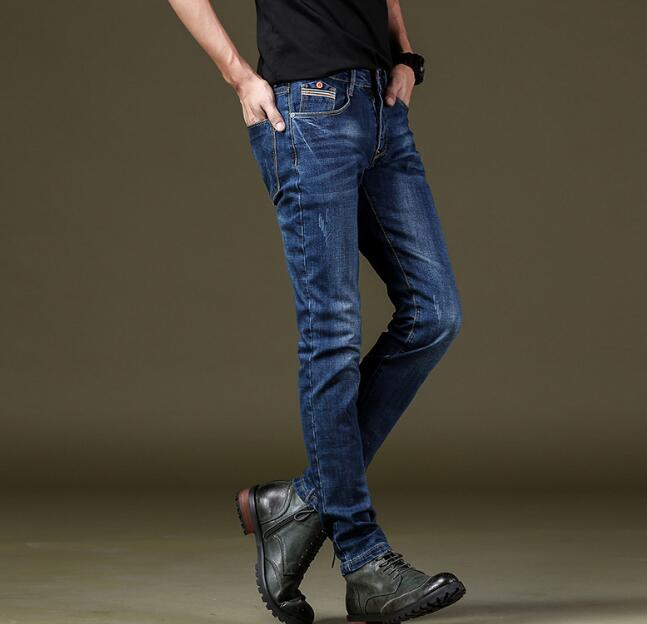 Good Quality Men Stretch Jeans | Long Length Jeans