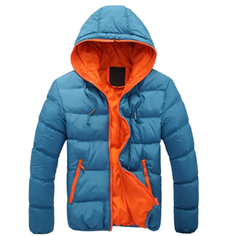 Winter Warm Jacket for Men | Hooded Slim Casual Coat