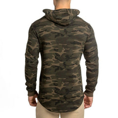 Mens Camouflage Hoodies Fashion | Bodybuilding jacket Sweatshirts sportswear - ShopTug