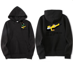 JUST BREAK IT Printed Men Sweatshirt | Hip-Hop Simpson Hoodeds