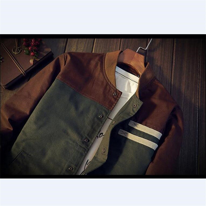 BDLJ New Autumn Korean mens jacket
