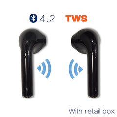 Wireless Headphone  for iPhone & Android  | Handfree Earbuds Universal