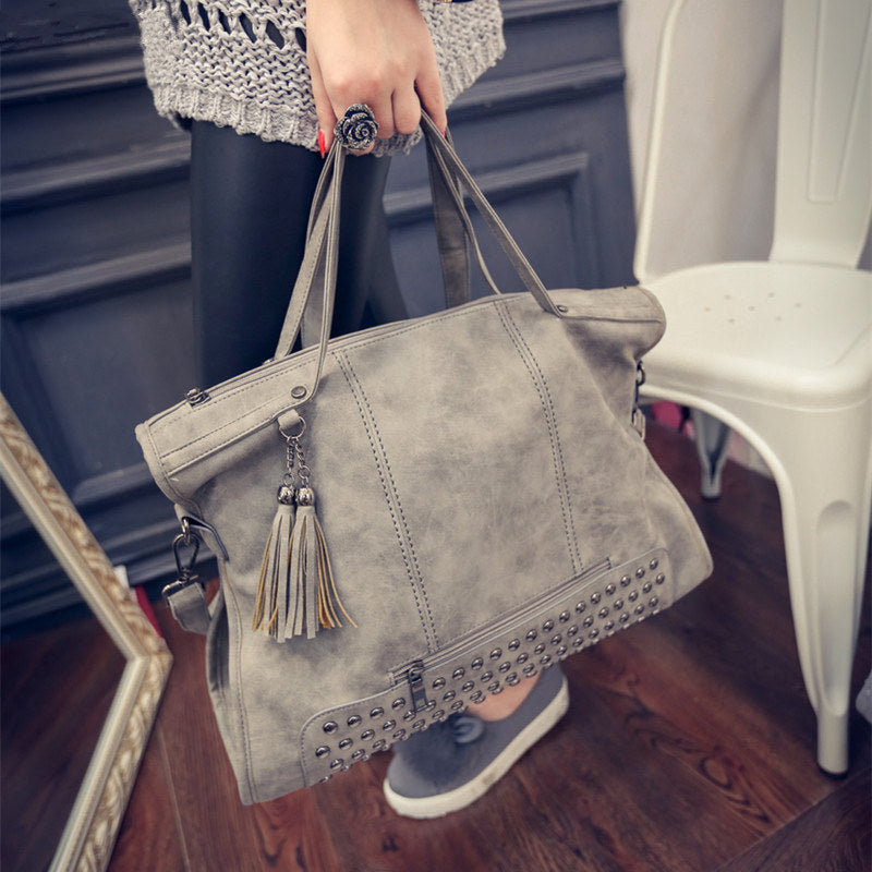 Leather Female Handbag Fashion - ShopTug