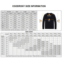 COODRONY T-Shirt Men 2018 Spring Autumn New Long Sleeve O-Neck T Shirt Men Brand Clothing Fashion Patchwork Cotton Tee Tops 7622
