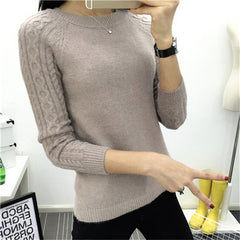 Sweaters Women 2018  Winter O-neck Long - ShopTug
