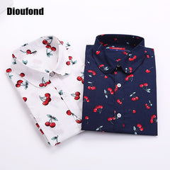 Dioufond New Floral Long Sleeve Vintage Blouse - ShopTug