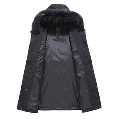 Jacket Longer Real Fur Coat's for Men's | Fashion Style Jackets Parkas - ShopTug