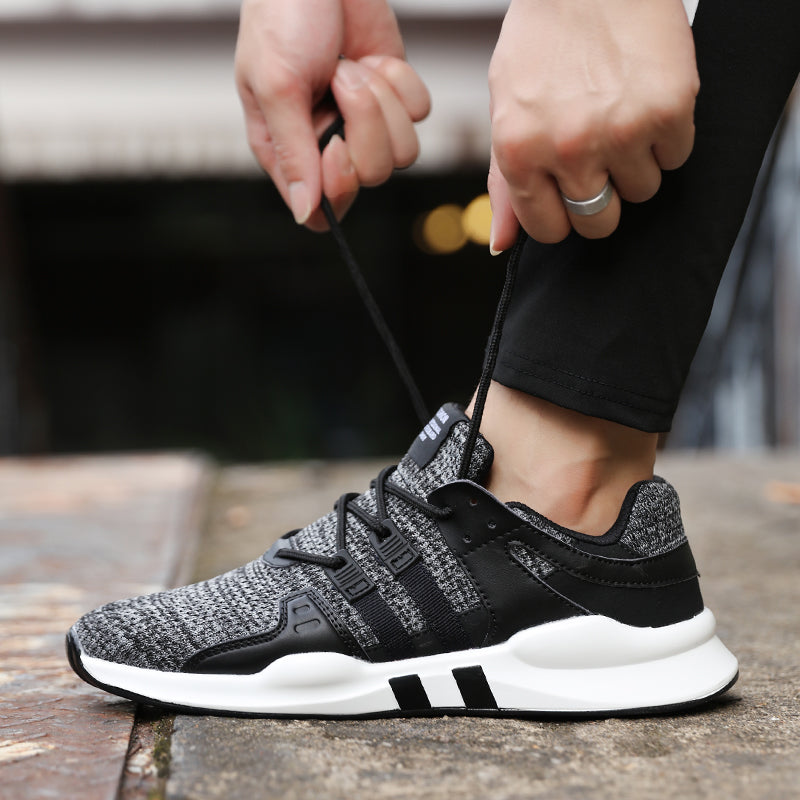 a8f180782ca85 ... Hot Spring Autumn High Quality Men Casual Shoes Fashion brand soft  breathable Lace-up ...