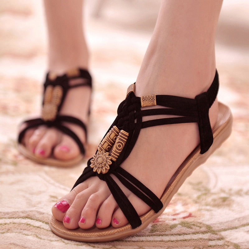 Women Gladiator Sandals | Summer Beach Ladies Sandals - ShopTug